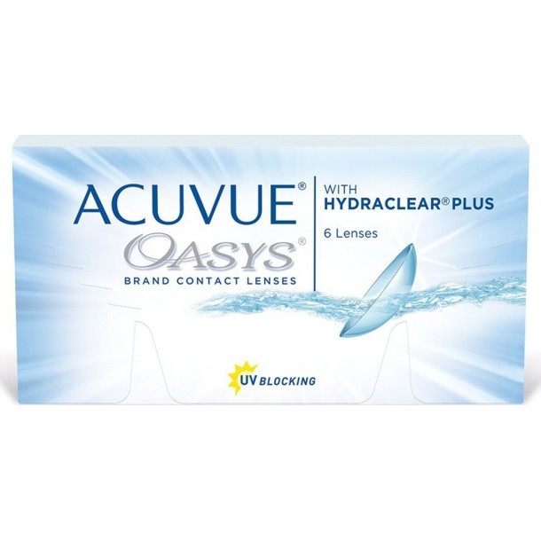 Johnson & Johnson Acuvue Oasys with Hydraclear Plus (6pack)